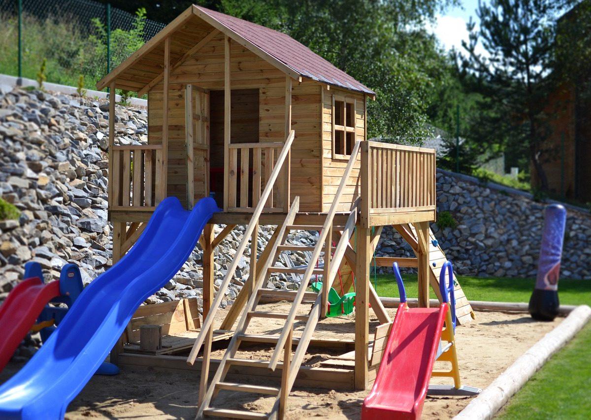 Dětský domek: Vhodné útočiště pro vašeho potomka
