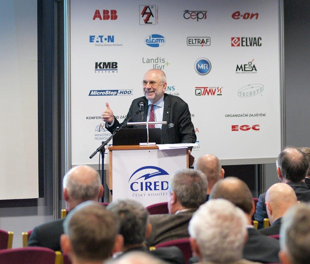 Na mezinárodní konferenci CIRED vystoupili odborníci ze společnosti E.ON Distribuce